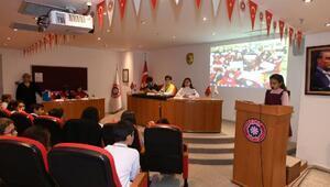 Çocuk Meclisinde 43 yeni madde karara bağlandı