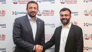 Çiçeksepeti.com, ING Basketbol Süper Liginin resmi sponsoru oldu