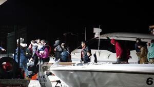 Ayvacıkta 94 kaçak göçmen yakalandı