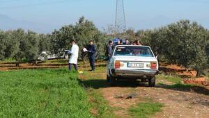 İzmirde otomobil içinde ceset bulundu