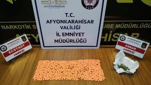 Afyonkarahisarda uyuşturucu operasyonu