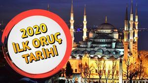 Ramazan ayı ne zaman başlıyor İşte Diyanet bilgisine göre 2020 ilk oruç tarihi