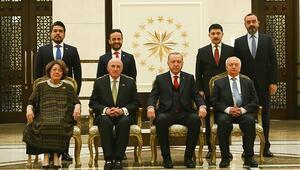Abdülhamitin torunu Külliyede Cumhurbaşkanı Erdoğan, güven mektuplarını kabul etti