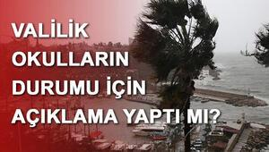 Antalyada okullar tatil mi Antalya Valisi Münir Karaloğlu yanıtladı...