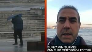 Antalyadaki hava durumuyla ilgili son dakika bilgilerini Bünyamin Sürmeli paylaştı