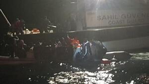 Enezde 30 kaçak göçmen yakalandı