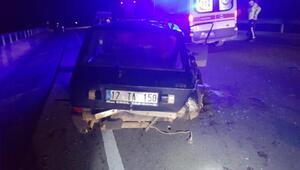 Ayvacık'ta trafik kazası: 2 yaralı
