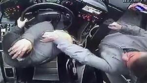 Otobüs şoförüne yumruklu saldırı