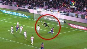 Luis Suarezin efsane golünü bu açıdan izlediniz mi