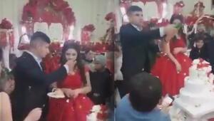 Düğünde damat terörü