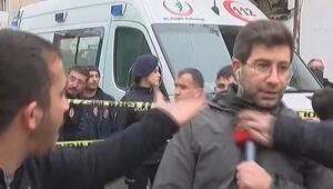 DHA muhabirine saldıran 3 kişi, serbest bırakıldı
