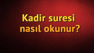 Kadir Suresi Oku ve Dinle - Kadir Türkçe ve Arapça Okunuşu, Anlamı, Fazileti ve Faydaları (Diyanet Meali & Tefsiri)