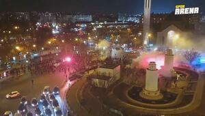 Pariste Galatasaray taraftarına çirkin saldırı