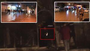 Esenyurt'ta hareketli anlar... Polis silahlı şüpheliyi vurdu