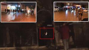 Polis silahlı şüpheliyi vurdu