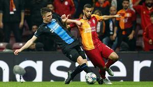 Galatasarayda Younes Belhandadan flaş açıklama; Ben buradayım