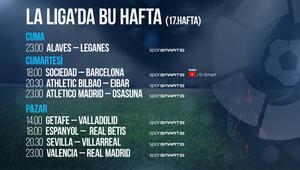 La Liganın 17. haftasında 8 maç canlı yayınla D-Smartta
