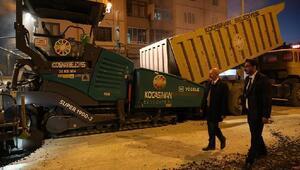 Kocasinan, 5 yılda 1 milyon 100 ton asfalt serdi