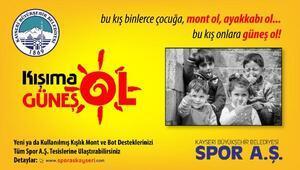 Büyükşehir Belediyesinden Kışıma Güneş Ol kampanyası