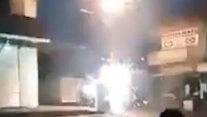 Viranşehir'de trafo panosunda patlama