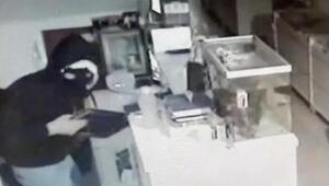 Kar maskeli hırsız yakalandı