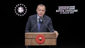 Cumhurbaşkanı Erdoğan: Bir avuç insan dışında kimse buna ses çıkarmadı