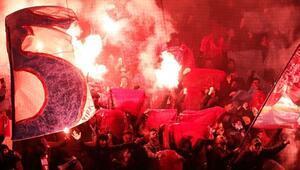 Trabzonsporun İsviçre deplasmanında büyük olay