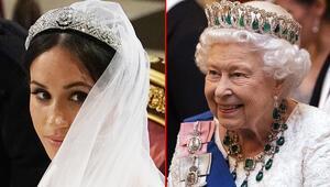 Meghan Markle, Kraliçe 2. Elizabethin bu tacına göz koymuş