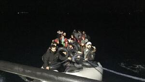 Çeşme ve Dikilide 83 göçmen yakalandı