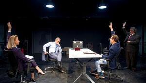 İstanbul Devlet Tiyatrosunun (İDT) Bay Z oyunu Mecidiyeköy Stüdyo Sahnede gala yaptı