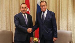 Son dakika... Bakan Çavuşoğlu, Lavrov ile görüştü