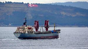 Rus askeri kargo gemisi Dvinitsa-50, Çanakkale Boğazından geçti