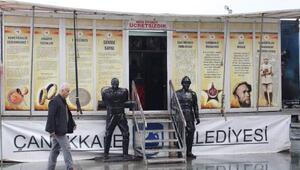 Çanakkale ruhu Antalyada