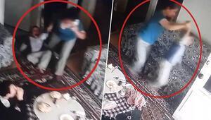 Kamera kayıtlarını gören aile dehşete düştü