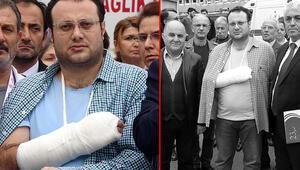 Sadece sessiz olmalarını istedi... Doktorun bileğini ve parmaklarını kırdılar