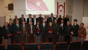 Orhangazide Kıbrıs Gazilerine madalya ve beratları törenle verildi
