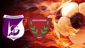 Keçiörengücü Hatayspor maçı ne zaman saat kaçta hangi kanalda Liderlik devam edecek mi
