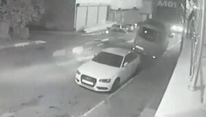 Sultanbeylide kaza anı kameraya yansıdı