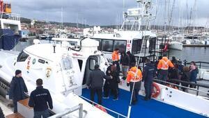 Seferihisar ve Urlada 113 kaçak göçmen yakalandı