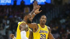 NBAde gecenin sonuçları | Lakersın deplasmanda galibiyet serisi 14 maça çıktı