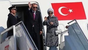 Cumhurbaşkanı Erdoğan Cenevreye gitti