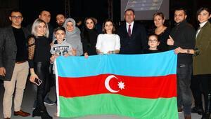 Almanya'da Haydar Aliyev'in anısına kick boks turnuvası yapıldı