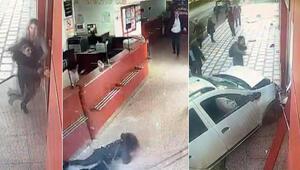 Yer: Antalya... Direksiyonda fenalaştı, açık öğretim bürosuna çarptı: Bir kişi öldü