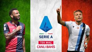 İtalya Serie Ada pazartesi ateşi iddaada hem Tek Maç, hem de Canlı Bahis...
