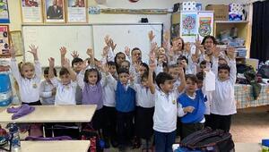 Turgutluda 4 bin 288 öğrenci aşılandı
