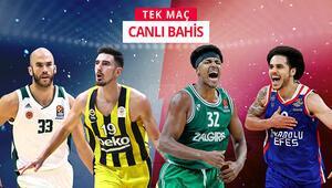 Çift maç haftasında Fenerbahçe ve Efes deplasmanda Euroleague iddaa oranları...