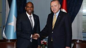 Cumhurbaşkanı Erdoğan, Somali Başbakanı Hasan Ali Hayriyi kabul etti