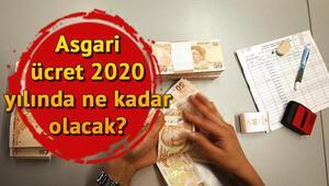 Asgari ücret 2020 yılında ne kadar olacak Asgari ücret ne zaman belirlenecek