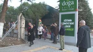 Bursada Doğa Koleji eylemi