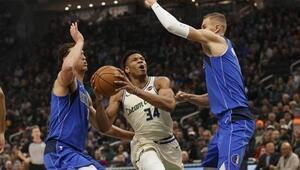 NBAde günün sonuçları | Dallas Mavericks, Milwaukee Bucksa dur dedi